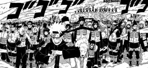 Naruto Allied Shinobi Forces by pollo0389