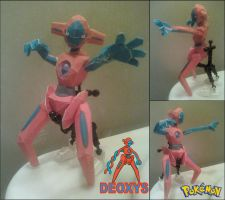 Deoxys Papercraft Finished by rubenimus21