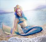 Mermaid at the Lake by amythist
