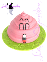 Arale's cake by sweetdisposition14