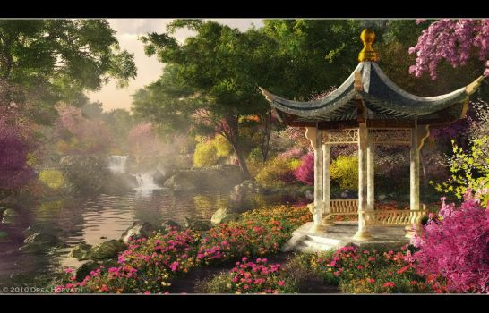 Garden of Serenity by 00AngelicDevil00