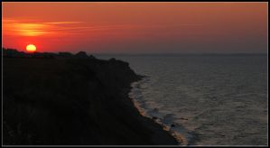 A Baltic Sea sunset 2007 by jchanders