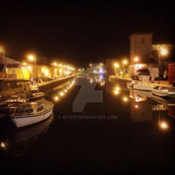 Cervia by night by sith77