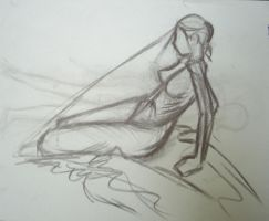 figure drawing one by lozartist