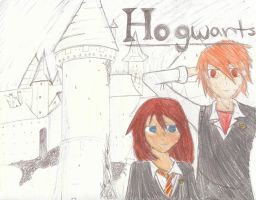 Hogwarts by NightArrcher