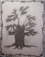 Civil D dead tree WIP 2 by crystalaki