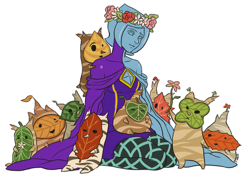 Fi and the Koroks by Z-Raid