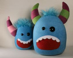 Pokee the Jumbo Monster Plush by Saint-Angel