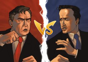 Brown VS Cameron by 2dforever