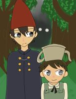 over the garden wall we go by asdfwaffles