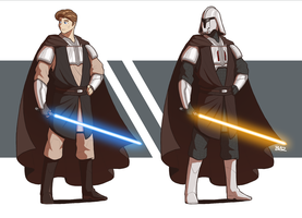 Anakin Skywalker by Blazbaros