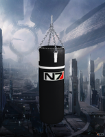N7 Boxing Bag for XNALara by Melllin