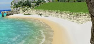 MMD Stage - Batokin Island by RossCuth