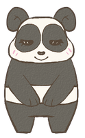 Lil Panda by Late-Night-Cannibals