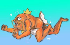 Magikarp Evolved into.. OH GOD