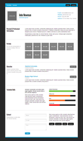 Minimal HTML Resume with Free Download by madazulu