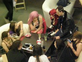 The cosplayers lunch))) by Franc1ne