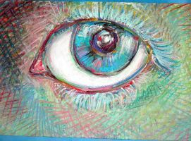 pastel in eye by stratham