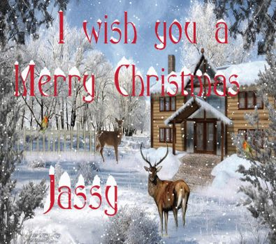 Merry Christmas from Jassy to all Friends by Jassy2012