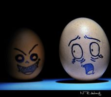 EGGS the Vampire 2 by nhiqiyut-photography