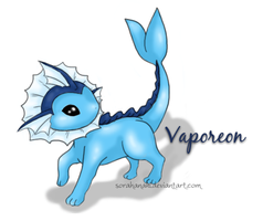 Pokemon: Vaporeon by sorahanaki