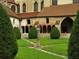The cloister by Sergiba