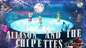Allison and the chipettes :D by AllisonChipette