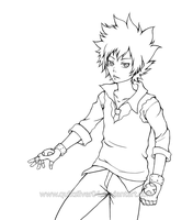 Tsuna - Hyper mode? by LucidCloud