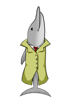 Inspector Delfin by Persona-Oshi
