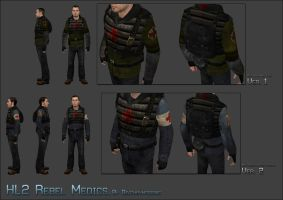 HL2 Medic Reskins by Deathbymodding