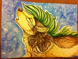 Iron Artist Challenge ACEO 13 by nightspiritwing