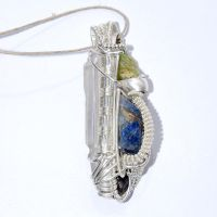 Long Silver Pendant by AscensionConceptions
