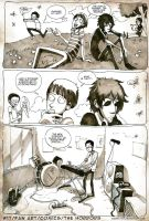 17 the horrors fan art comics by Masha-Ko