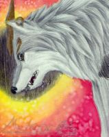 ACEO - Meteor by HowlingWolfSoul