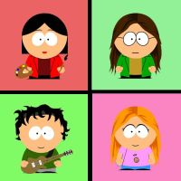 Daria South Park Style. by Ghostworld-uk