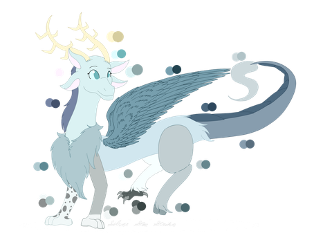 Star the Draconequus (-sona reference sheet) by SilverStarStrike