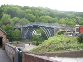 Another view of the Ironbridge by TSofian