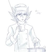 chef yusei by slifertheskydragon