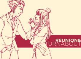 PW: Reunion + Turnabout by cafe-lalonde