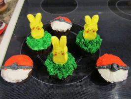 Pokemon Cupcakes by Pigpeter