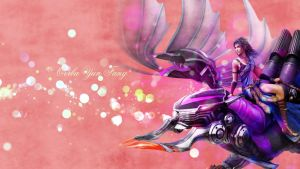 Fang and Bahamut by softlady
