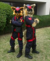 Swat Kats Cosplay by Zhon