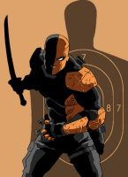 Deathstroke Redesign by Gaston25