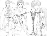 Prince Leon Outfits by Pirategirl28