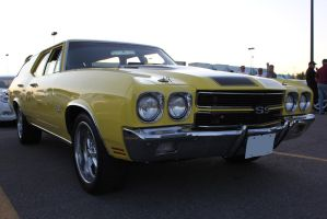 Chevelle Wagon by KyleAndTheClassics
