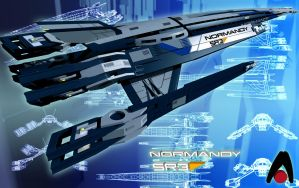 Normandy SR3 Concept Final Aliance Version by pangeranberbajuputih