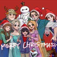 Merry Christmas by amarim