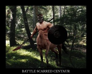 Battle Scarred Centaur