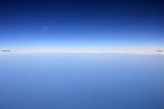 HORIZON OVER THE INDONESIA SKY by TANKQ77
