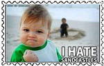 Sandcastles Stamp by AcidaliaAdrasteia